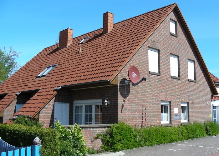 Ansicht Front Ferienhaus Hooksiel
