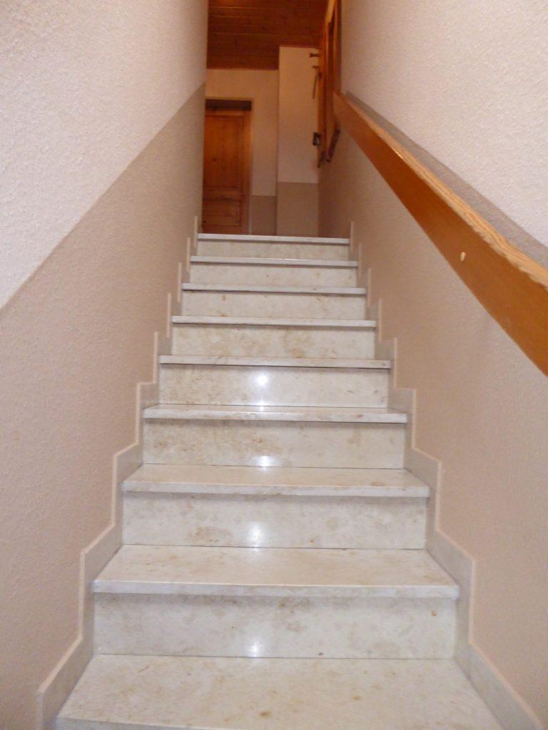 Treppe Ferienhaus Hooksiel